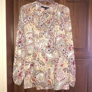 Zac & Rachel woman's Plus Size Blouse Shirt 2X